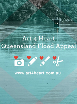 Art 4 Heart: Art Auctions for QLD flood relief