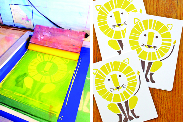 while pursuing my graphic design degree i took some fine arts classes including screen printing and fell in love - Printing Pictures For Kids
