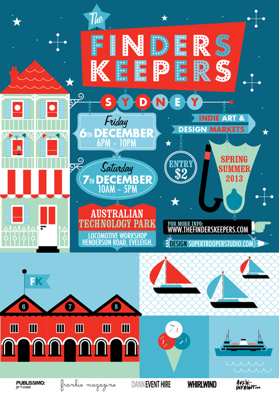 Finders Keepers SS13 Sydney Market Flyer