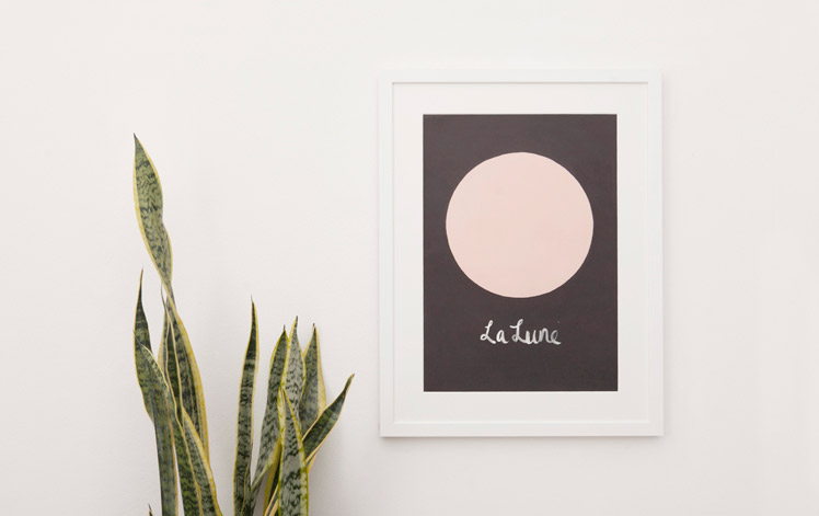 The Adventures of La Lune Framed Print