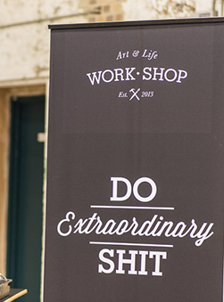 Featured Space: Work Shop