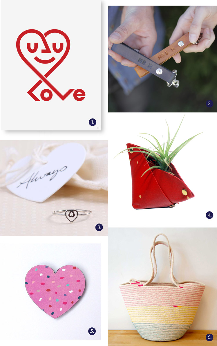 Strangerstranger Gift Guide Handmade Valentines Local heart