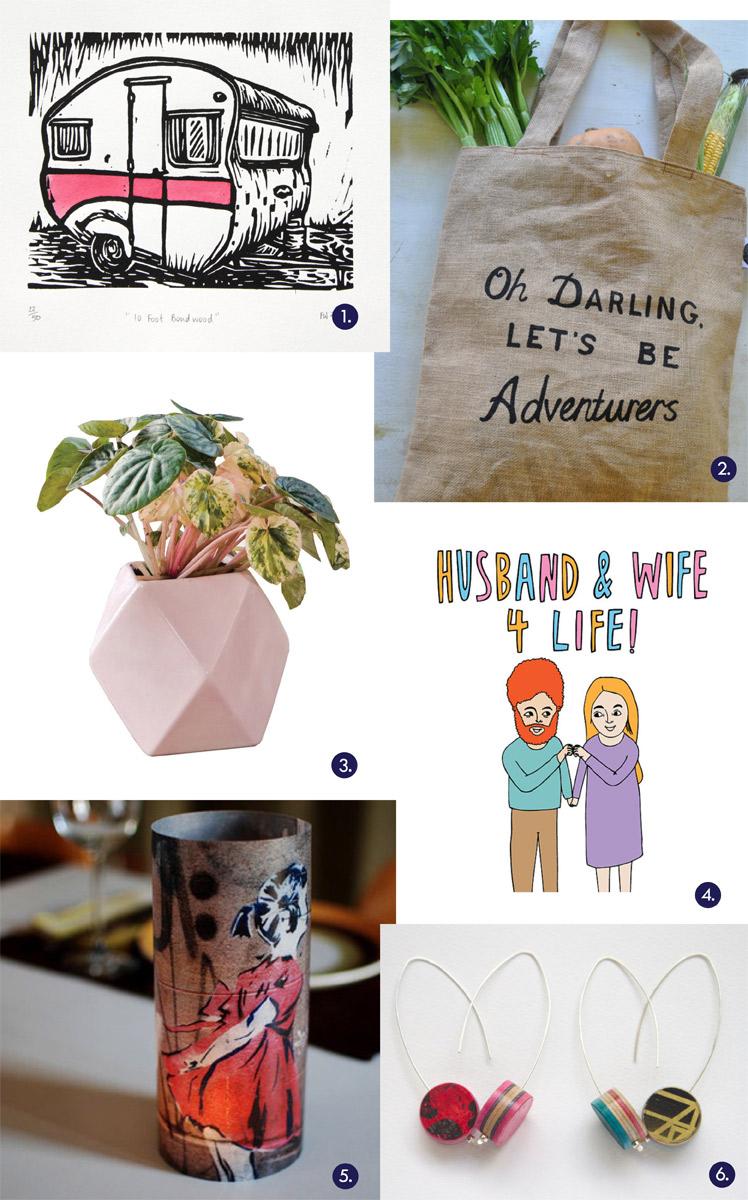 thesentilmentalist Gift Guide art pot plant valentines gift