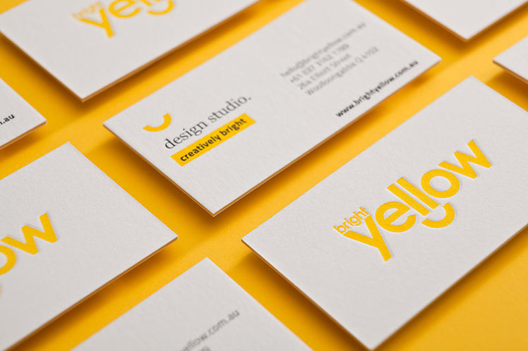 The Hungry Workshop Bright Yellow Branding