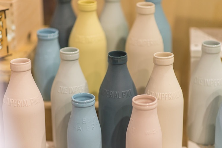 Urban Cartel Porcelain Milk Bottles