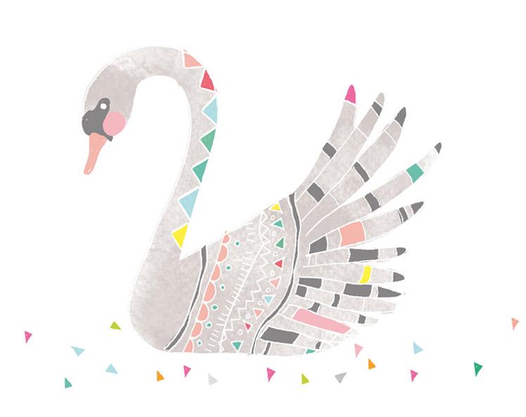 Laura Blythman artist swan