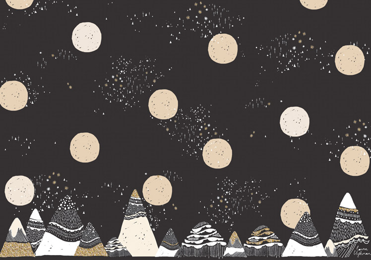 Laura Blythman artist mountains