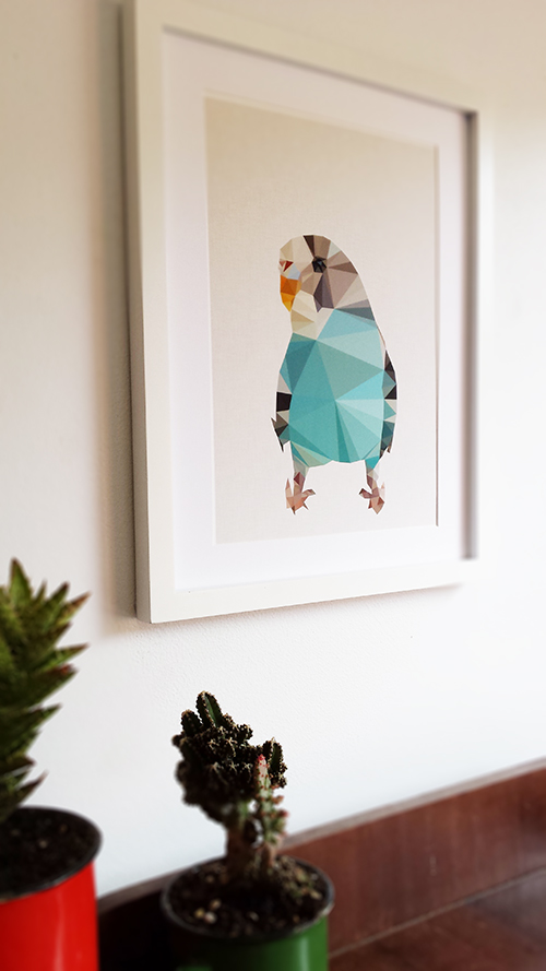 Studio Cockatoo Budgie Print