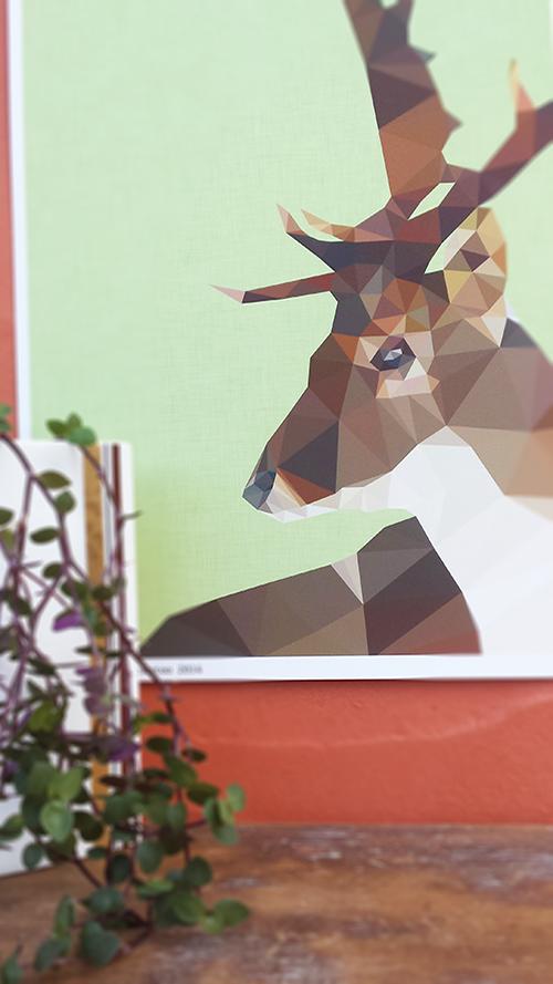 Studio Cockatoo elk deer print