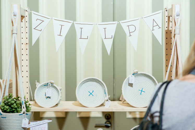 Zillpa Finders Keepers Stall set up