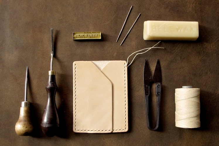 Bas and Lokes Leather Goods Card holder