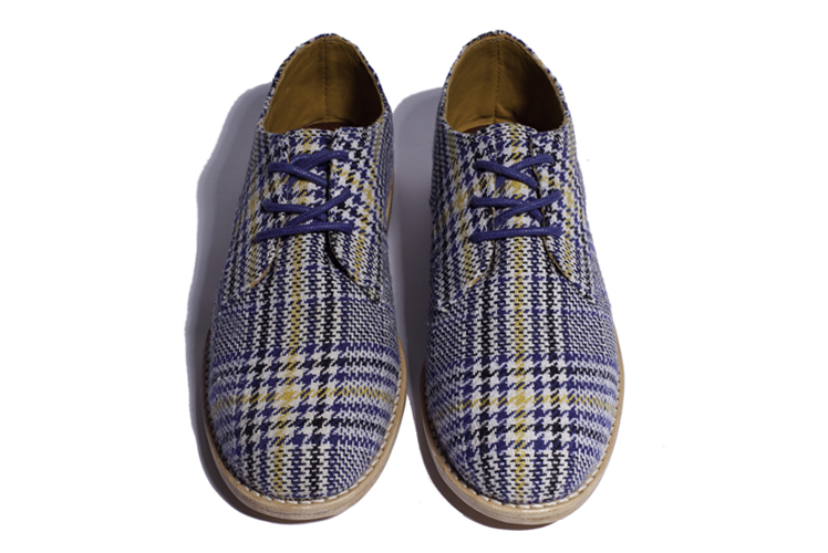 Marssi shoes derby handcrafted plaid
