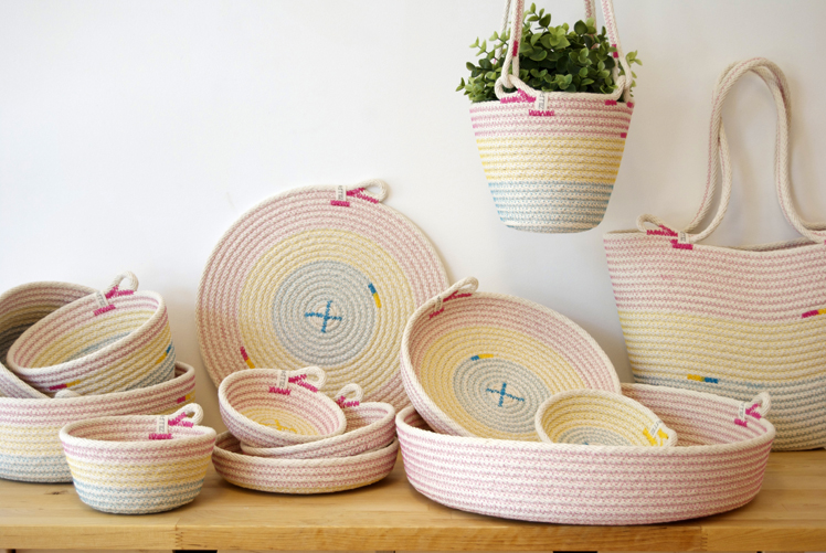 Zillpa bowls dishes pot holders coasters bags and plant hangers