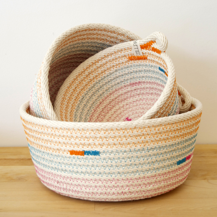 zillpa rope baskets