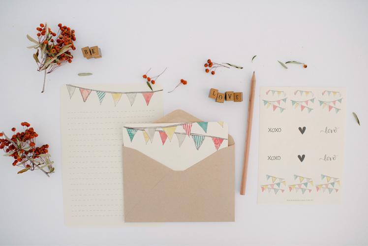 An April Idea writing sets