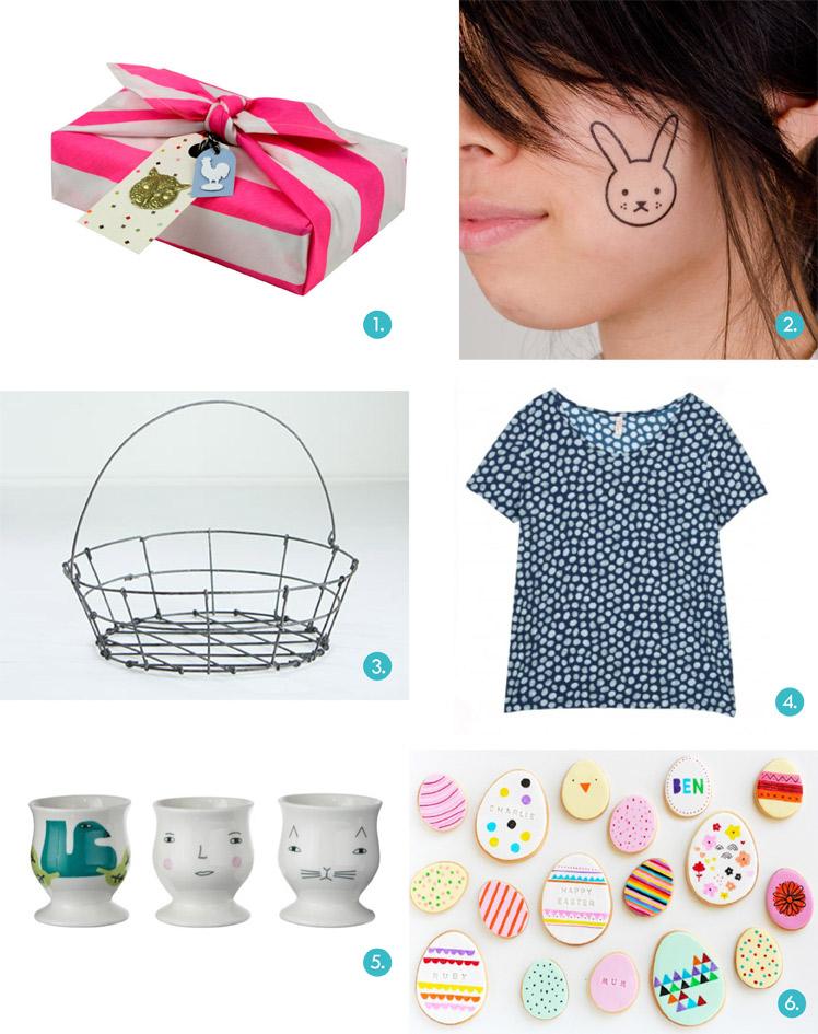 Blank Gift Guide Easter