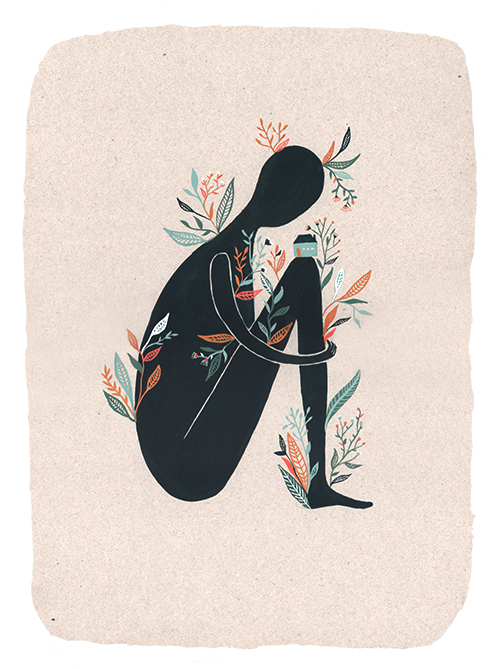 Lauren Merrick Illustration Art Print Grow