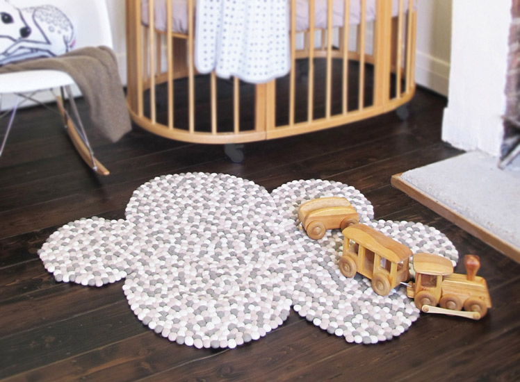 Homely Creatures fawn cushion rug