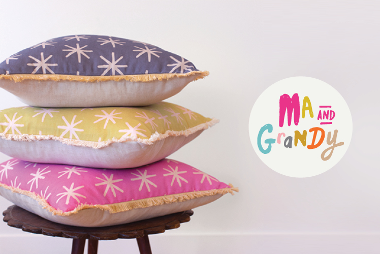 Ma and Grandy homewares cushions