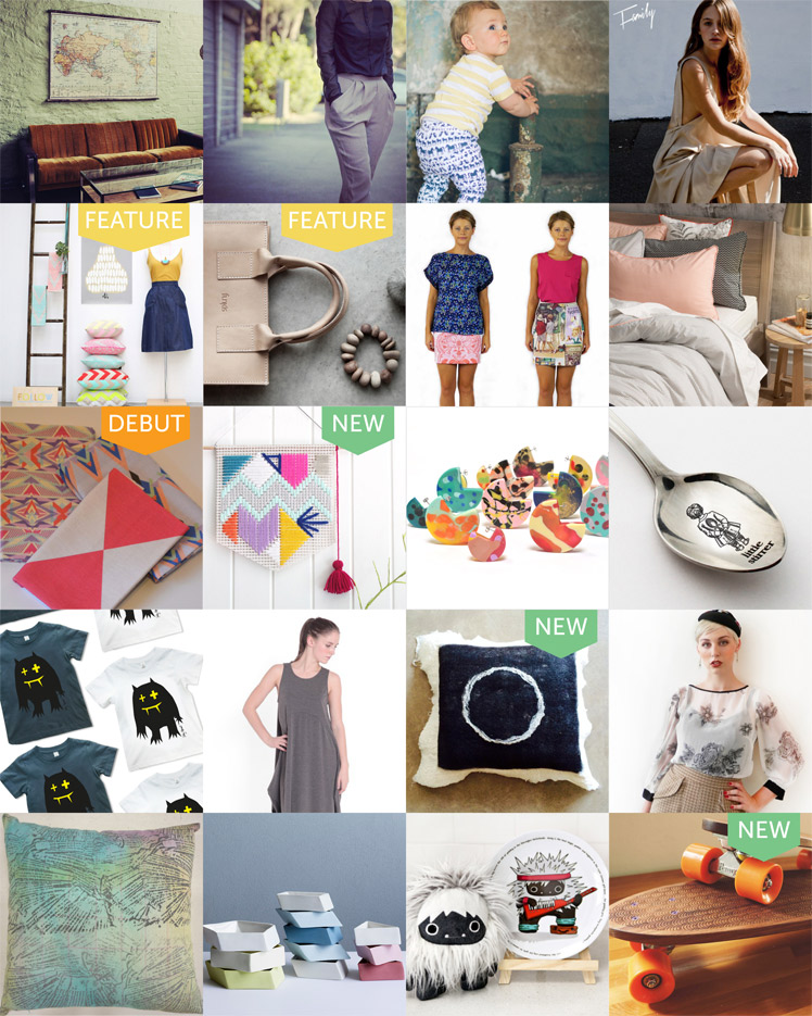 The Finders Keepers Design Line up Sydney A/W 2014
