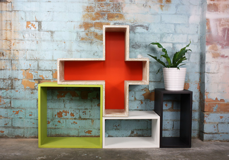 Kuub Urban fiesta modular shelving