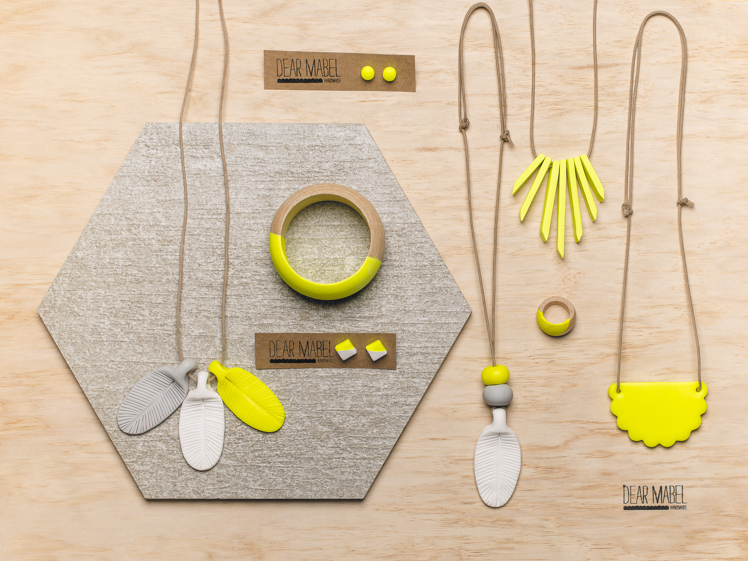 Dear Mabel Handmade clay jewellery