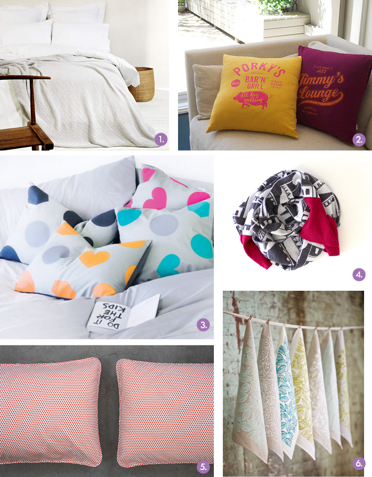 Gift Guide - Finders Keepers - SYD AW14 - Textiles