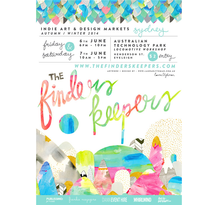 Sydney-Finders-Keepers-AW14-Poster-Laura-Blythman