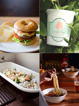 Melbourne AW14 Market Food Trucks & Farmers Lane Line-Up