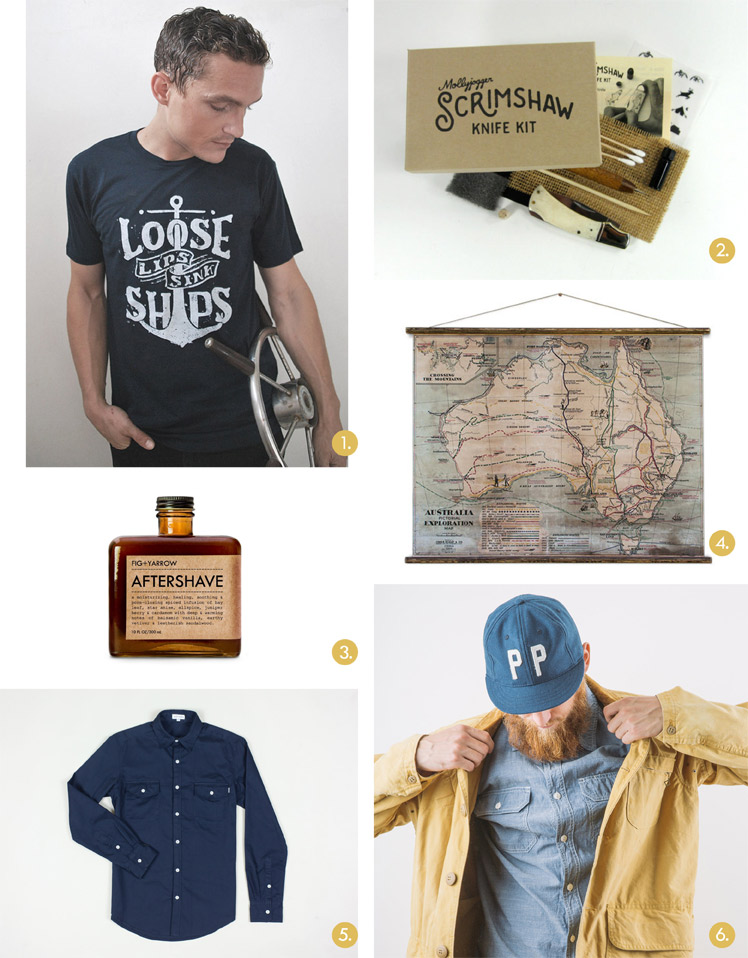 The Finders Keepers Father's Day Gift Guide by Leo & Spargo