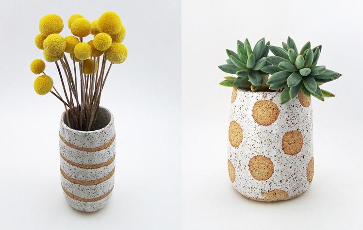 Susan-Simonini-Ceramics vases