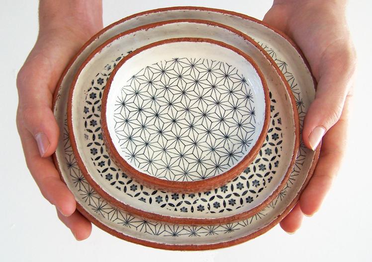 Susan Simonini Ceramics terracotta bowls