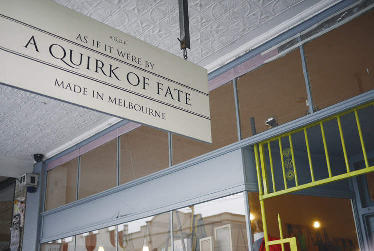 A Quirk of Fate Store Melbourne