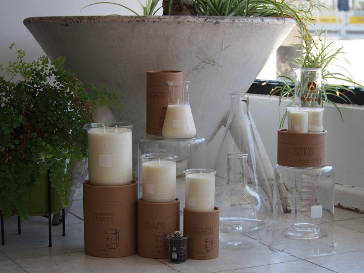 Alchemy Produx soy candles