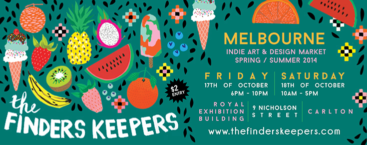 Finders Keepers Melbourne SS14 markets flyer Jessica Singh