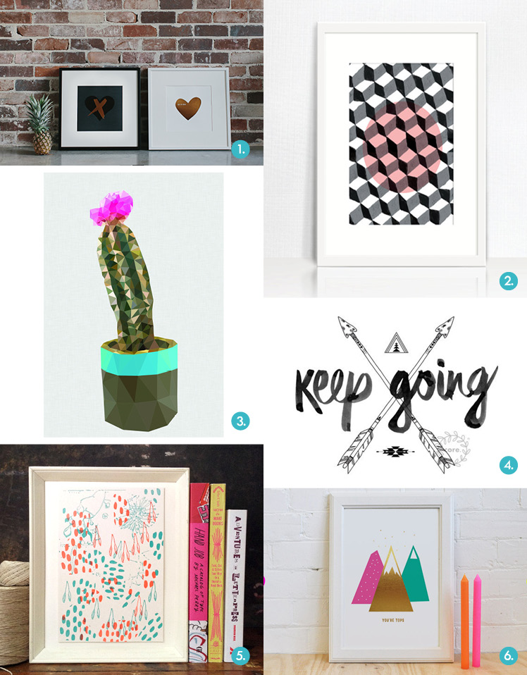Gift guide Brisbane SS14 Markets Highlights Art Prints