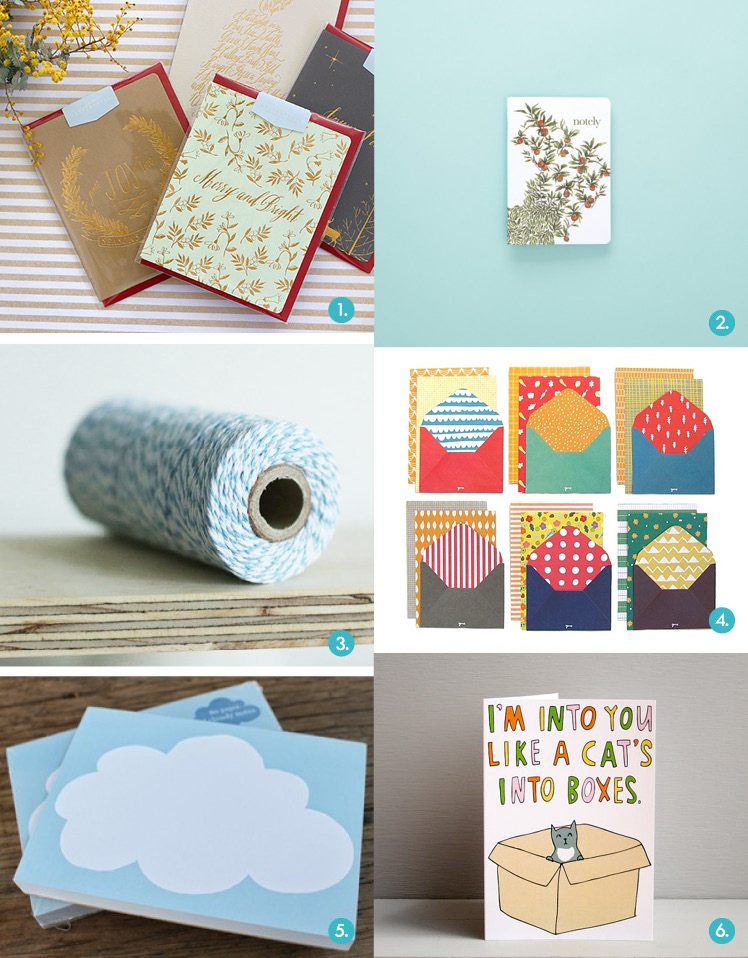 Gift guide Brisbane SS14 Markets Highlights Stationery