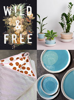 October 2014 Gift Guide: Homewares & Plants