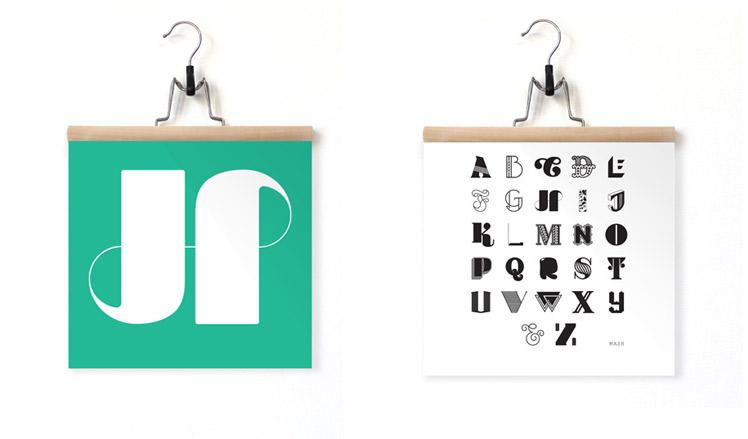 MASH Studio typography
