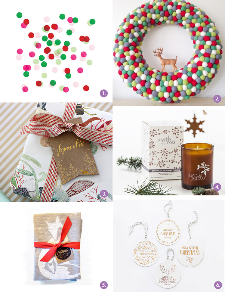 November 2014 Gift Guide: Christmas Decor
