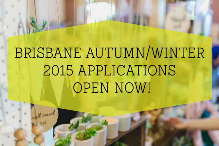 Brisbane AW15 Finders Keepers Applications Open
