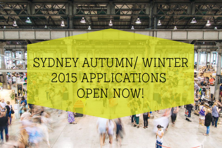 Finders Keepers Applications Open Sydney AW15