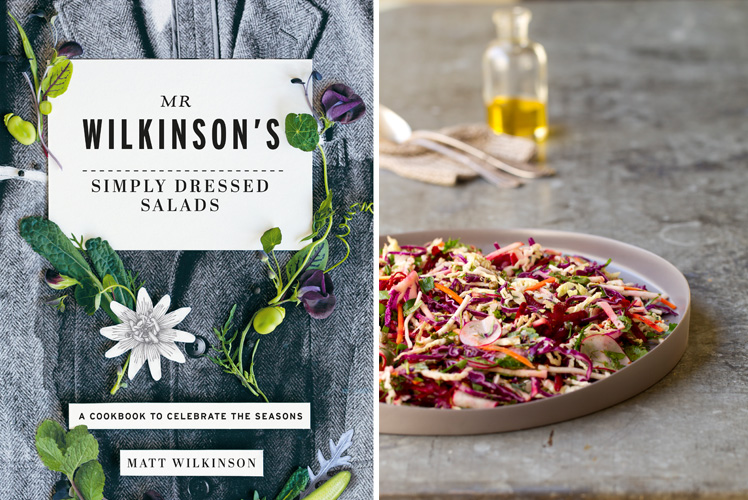 Mr Wilkinson's Simply Dressed Salads Book OLD MAN SLAW