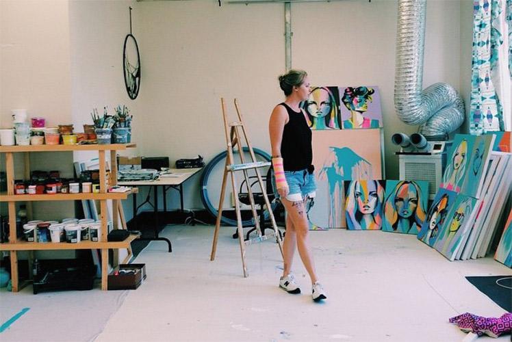 Anya Brock Artist