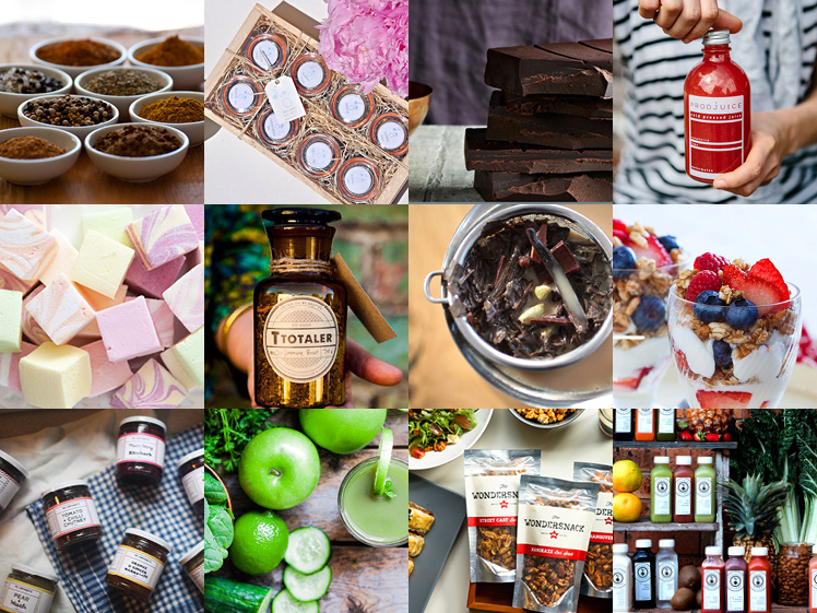 Sydney AW15 Finders Keepers Market Food Stalls