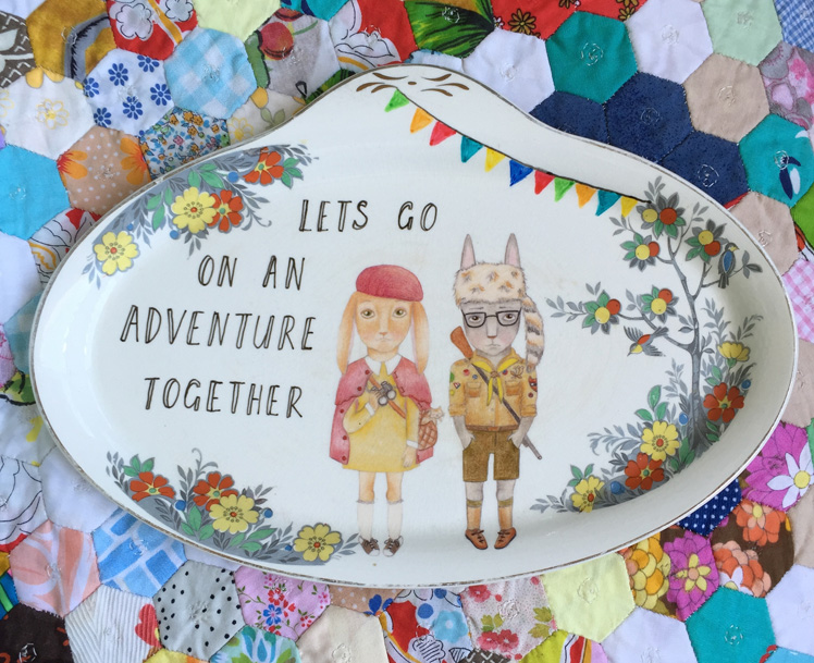 The Storybook Rabbit Illustrated plate