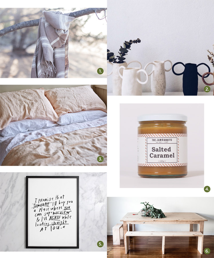 May 2015 Gift Guide: Winter at Home Assembly Design