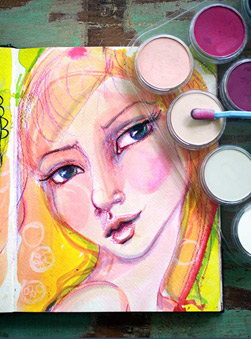 Featured Artist: Jane Davenport Art Journals