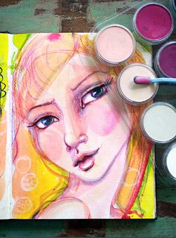 Featured Artist: Jane Davenport Art Journals