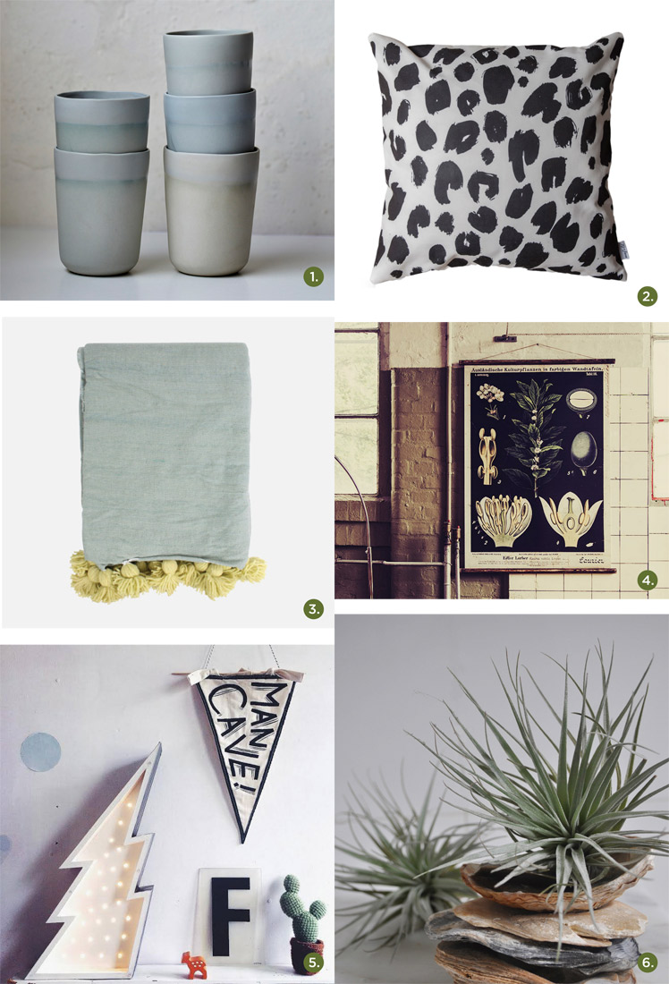 May 2015 Gift Guide: Winter at Home Paterson + Steele
